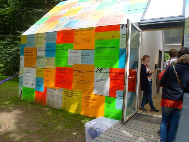 Zeit-Bank | e-flux auf der at dOCUMENTA (13)