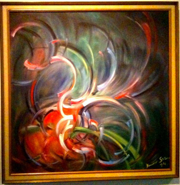 Gemälde von Konrad Zuse at dOCUMENTA (13)